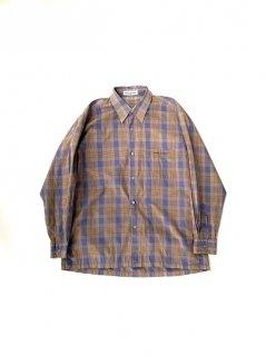 00's PIERRE BALMAIN PARIS Check Shirt(IRVINE取り扱い商品)