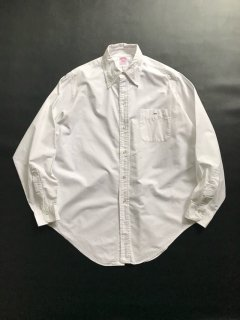 70's Brooks Brother Makers Oxford Polo Collar Shits 16 1/2-4 MADE IN U.S.A. 6つボタン