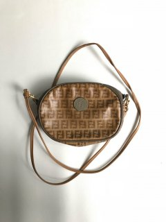 70〜80's Vintage FENDI S.A.S.ROMA MADE IN ITALY Zucca Bag