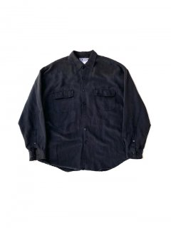 90's UNITED a break from tradition Black Cotton Shirt