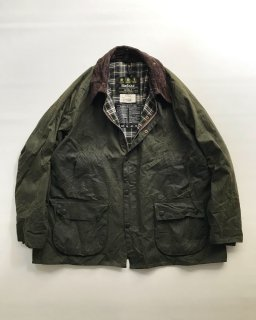 Vintage Barbour BEDALE Wax Cotton Jacket MADE IN ENGLAND