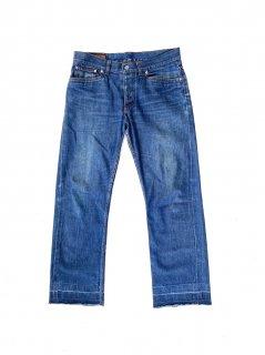 Hermès Straight Silhouette Denim Pants