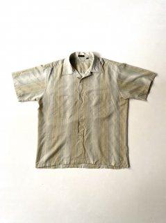 70's Short Sleeve Open-collor Shirt