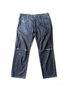 05's〜08's Martin Margiela Archive Destroyed Straight Denim Pants