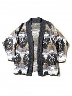 90's Unknown Cotton Native Big Cardigan