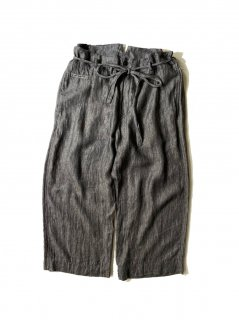 Y's Linen Wide Over Pants MADE IN JAPAN
