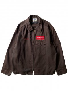 80's FLEXBAC Cotton Work Jacket MADE IN U.S.A.