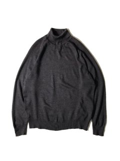 90's EURO MARZ Turtleneck Knit CHARCOAL