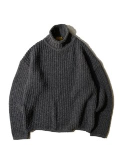 80's Roll-hineck Knit