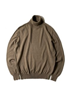 90's Luciano Cashmere Blend Turtleneck Knit CAFE AU LAIT