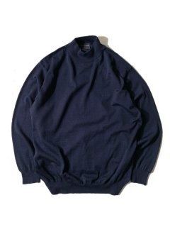 pierre cardin Mock neck Knit NAVY