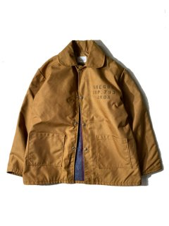 90's N.C.CORRECTION ENTERPRISES Heavy Nylon Work Jacket ブランケットライニング付き