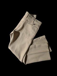 Wrangler WRANCHER Polyester Flare Dress Trousers BEIGE 34×29