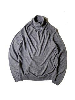 90's BLUE SEVEN Turtleneck Knit GRAY