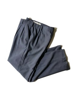 90's Unknown Brand HUDDERSFIELD 2tuck Trousers GRAY