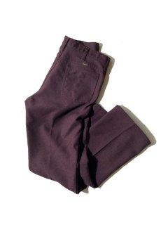 Wrangler WRANCHER Flare Pants BURGUNDY
