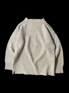 80's Guernsey Sweater BEIGE