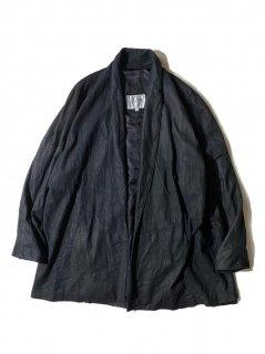80's REMY Leather Haori BLACK MADE IN U.S.A.