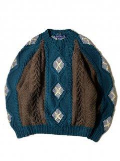 90's NAUTICA Hand Knit