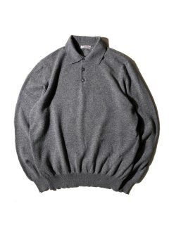 Gran Sasso Wool/Cashmere Knit Polo MADE ITALY