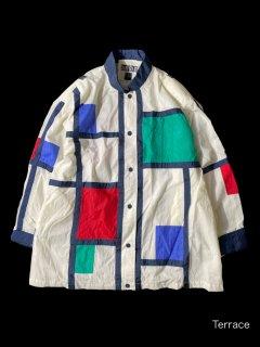 DANI COLBY Mondorian Look Nylon Jacket