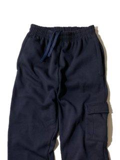 90's STUDIO ACTIVE WEAR Sweat Cargo Pants DARK NAVY