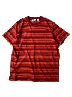 90's TTT CLASSICS Border T-shirt XL