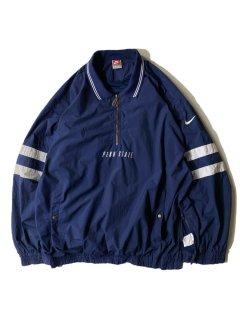90's 銀タグ NIKE Half-zip Pullover Nylon Jacket NAVY