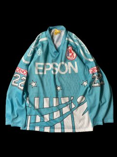 90's Düsseldorfer EG Hockey Pullover Mesh Shirt