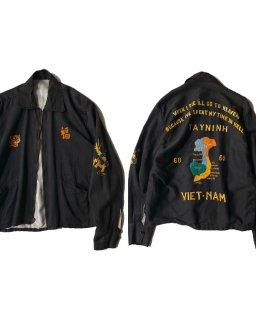 60's Vintage Vietnam Jacket BLACK
