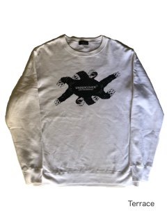 UNDERCOVER Print Sweat White MADE IN JAPAN