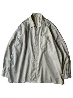 80's Euro Shark Collar Shirt PAIL PISTACHIO