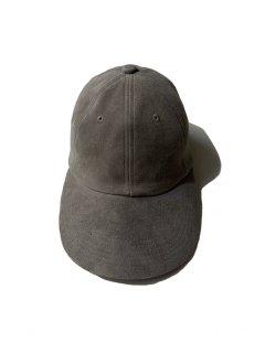 Unknown Brand Suede Longueville 6panel Cap STEEL GRAY