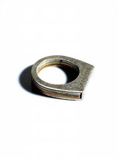 Martin Margiela Silver×Brass Combination Ring US 8 / 17.5号