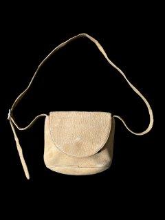 Eddie Bauer Leather Shoulder Bag BEIGE