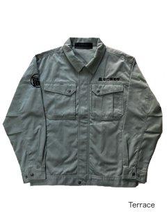 福浦安打製造所 Zip-up Work Jacket