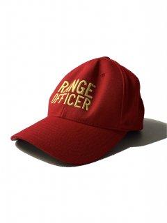 RANGE OFFICER 6panel Cap RED