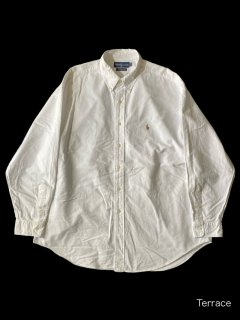 90's Ralph Lauren YARMOUTH Oxford BD White Shirt
