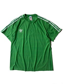 80's adidas T-shirt GREEN MADE IN GREECE