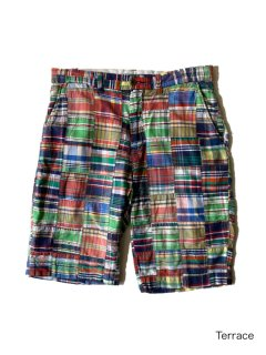 90's Polo by Ralph Lauren Patchwork Short Pants W32