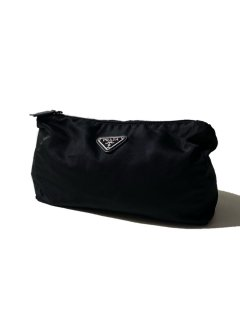 PRADA Hand Bag BLACK MADE IN ITALY