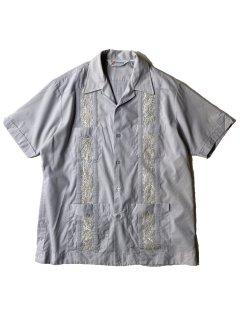 80's ROMANI Cuba S/S Shirt PAIL LAVENDER