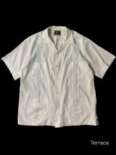 70's Cuba Shirt Ice Blue