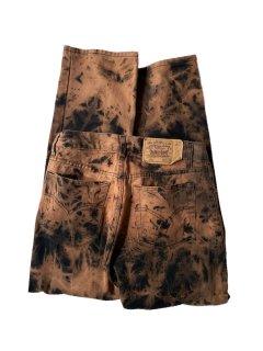 90's Levi's 501 BLACK Bleached Denim Pants MADE IN U.S.A.