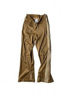 70's adidas ATP Side Zip Track Pants MADE IN U.S.A. CHAMPAGNE GOLD