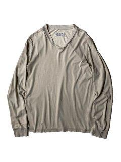 Artisanal Martin Margiela ⓪⑩ Cross U-neck L/S T-shirt