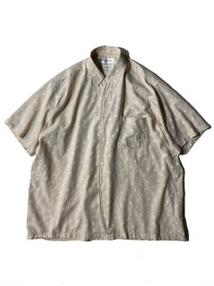 COMME des GARCONS SHIRT Embroideryed S/S Shirt MADE IN FRANCE