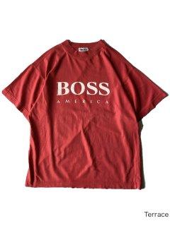 90's BOSS T-shirt MADE IN U.S.A.