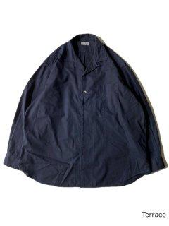 80's COMME des GARCONS HOMME Open Collor Shirt BLACK XL程度