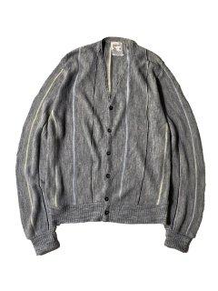 60's TOWNCRAFT Acryl Stripe Cardigan